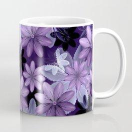Ultra Violet Anemones of Tillandsia Coffee Mug