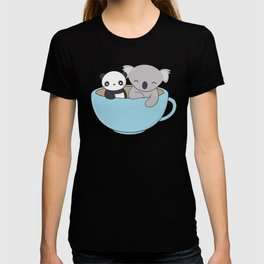 Kawaii Cute Koala and Panda T-shirt
