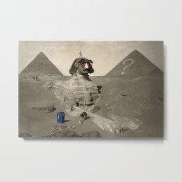 The Sphinx in time Metal Print