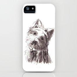 Bon Bon - the cat-like dog iPhone Case