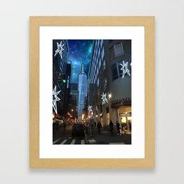 Twilight District Framed Art Print