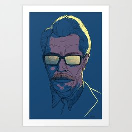 Gordon Art Print