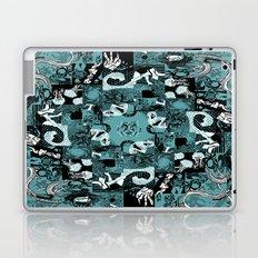 Summer Relief - seafoam Laptop & iPad Skin
