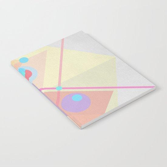 Geometric pastel 01 Notebook