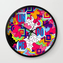 Un Do Me Wall Clock
