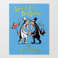 Spies In Disguise Canvas Print