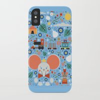 dumbo iPhone & iPod Cases featuring Dumbo by Carly Watts