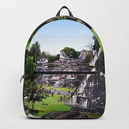 Tikal Guatemala Mayan Ruins Backpack