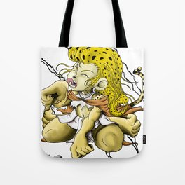 African Cheetarah Tote Bag