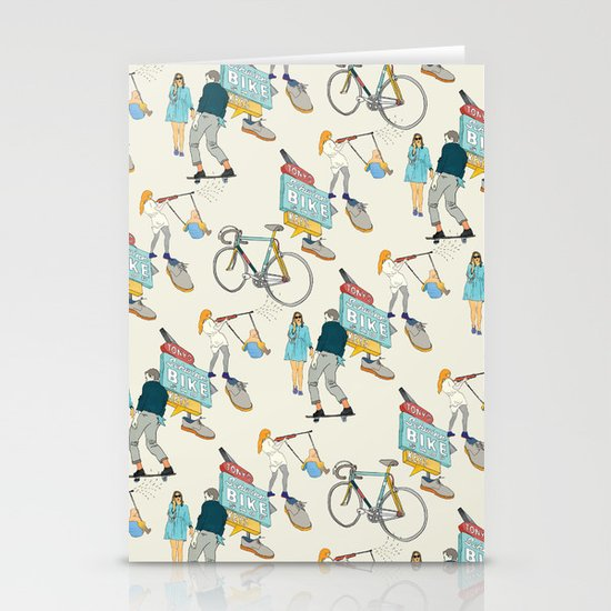Tonys Bike Shop Stationery Cards