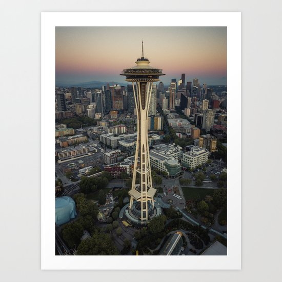 Space Needle by rudywillingham