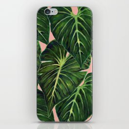 Tropical II Coral iPhone Skin