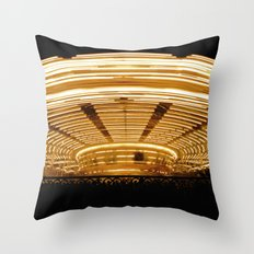 Sit and Spin Throw Pillow