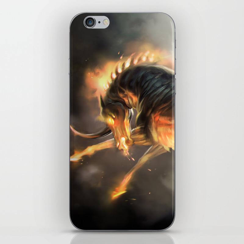 The Nightmare Iphone & Ipod Skin by Tcfischer PSK899550