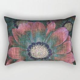 hippie flowers Rectangular Pillow