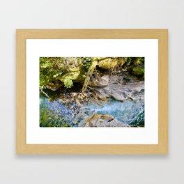 johnston canyon, 2017. Framed Art Print