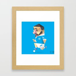 LORENZO INSIGNE Framed Art Print