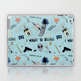 I Want To Believe Laptop & iPad Skin