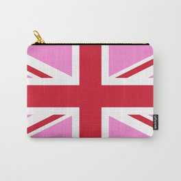 Gay Pink UK Pride Flag Carry-All Pouch