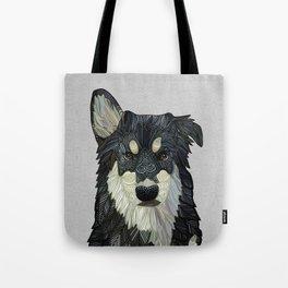 Bjorn - Malamute Samoyed Husky Mix Tote Bag