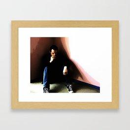 In the Corner #2 Framed Art Print