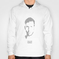 calvin and hobbes Hoodies featuring Calvin Harris by Sjors van den Hout