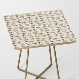 Museum Animals | Dinosaur Skeletons on Cream Side Table
