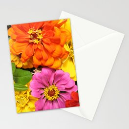 Farmer's Market Flowers Stationery Cards