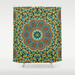 Bohemian Mandala Shower Curtain