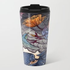 Together We Face The Storm Metal Travel Mug