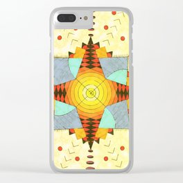 El sol canario Clear iPhone Case