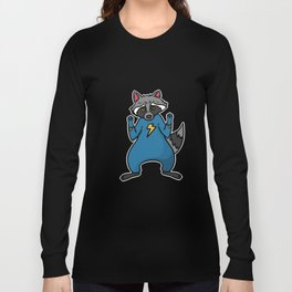 superhero badger Long Sleeve T-shirt
