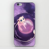 mew iPhone & iPod Skins featuring Mew by Sunny