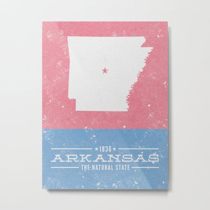 Arkansas - The Natural State Metal Print