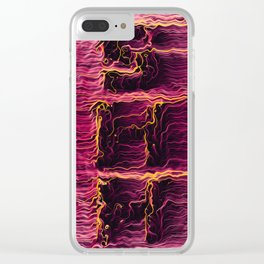 Between the lines - Shh alternate Clear iPhone Case