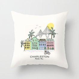 Charleston, S.C. Throw Pillow