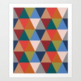 Geometric No.2 Art Print