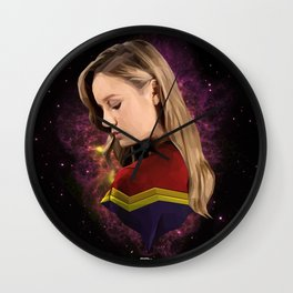 Captian Carol Wall Clock