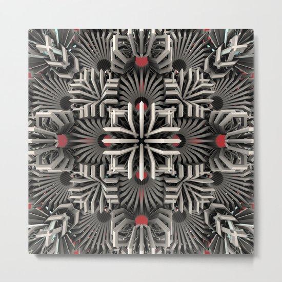 Calaabachti Matrix Metal Print
