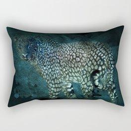 Midnight Jaguar Rectangular Pillow