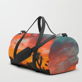 Desert sunset Duffle Bag