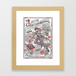 CreativeReveal - Le Designer (Standard Ver.) Framed Art Print