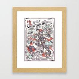 CreativeReveal - Le Designer (Standard Ver.) Framed Art Print