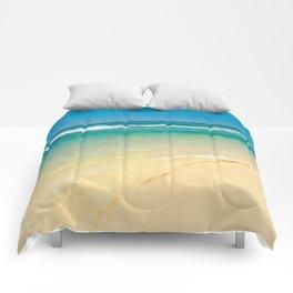 maui beaches into the blue Comforters