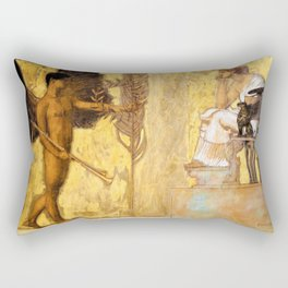 Franz von Stuck - Tribute to the painting - Digital Remastered Edition Rectangular Pillow