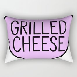 Love Grilled Cheese Rectangular Pillow