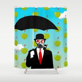 Umbrella Man Shower Curtain