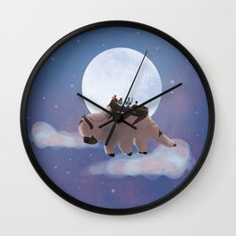 Appa: Under the Moon Wall Clock