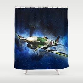 Hawker Typhoon Shower Curtain