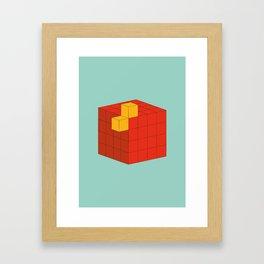 PAUSE – A Fez Framed Art Print